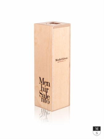 BOX LEGNO SINGOLO 750 ML  [Menhir Salento]