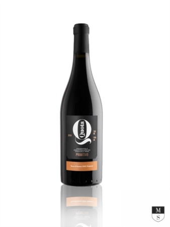 Quota DOC Terra d'Otranto - 100% Primitivo - 750 ml [Menhir Salento]