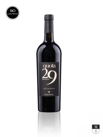 QUOTA 29 IGT Salento - 100% Primitivo - 750 ml [Menhir Salento]