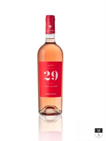 Quota 29 Rosato IGT Salento - 100% Primitivo 2019 - 750 ml [Menhir Salento]